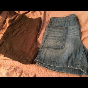 2 bnwot shorts